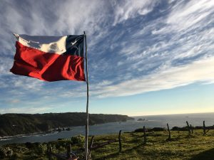 The Western shore of Chiloe, overlooking Pacific