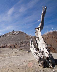 Chaiten volcano  crater
