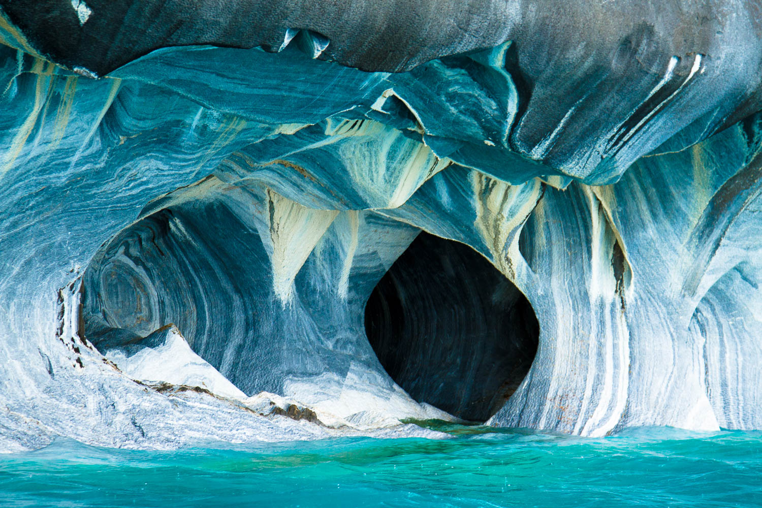 Marble caves, Rio Tranquilo