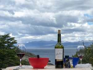 Refined dining on the Beagle Channel