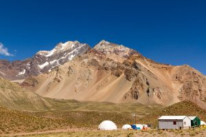 Base camp at Aconcagua