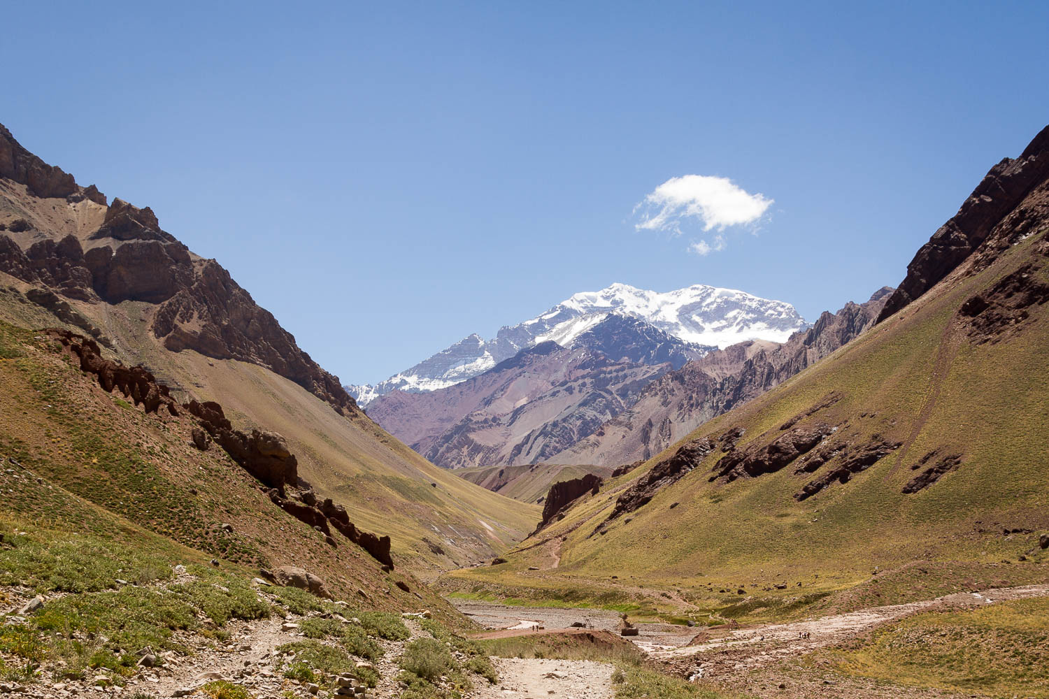 View of Aconcagua