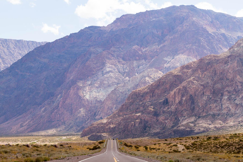 Drive to Uspallata